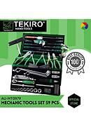 [AU-MT0979] Tekiro Mechanic Tools 59pcs Yamaha Tool Kit (Besi)