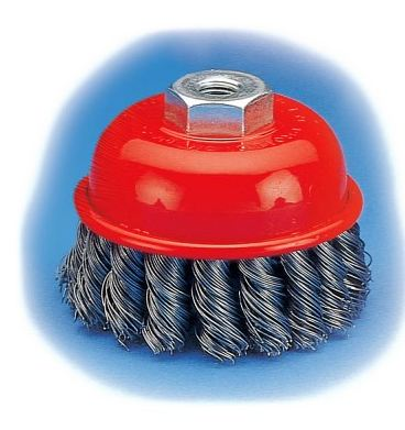 "Union Knot Cup Brush KC-31 (75mm/3""/M10x1.50)"