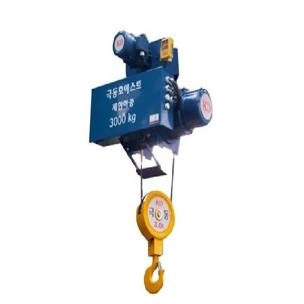 Kukdong Electric Wire Rope Hoist KDWS (fixed monorail/singlespeed) 1Ton