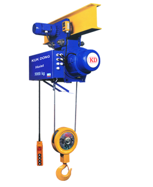 Kukdong Electric Wire Rope Hoist KDWMC (fixed monorail/double speed) 2Ton