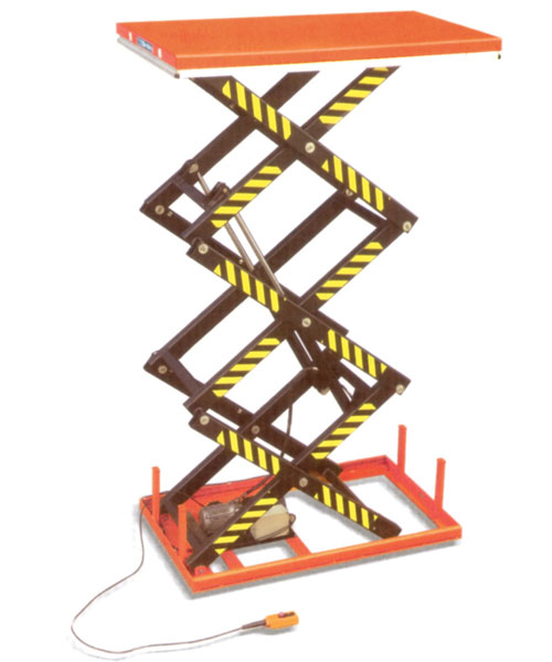Morlift Triple Scissor Electric Lift Platforms TSELP1.0 (1000 Kg)