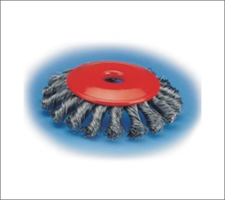 Union Twist Cup Wheel Brushes KV-Type