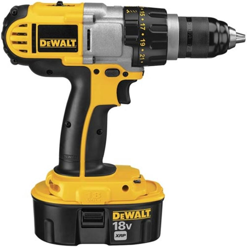Dewalt DCD771C2 18v XR Li-ion Hammer Drill Driver with Battery