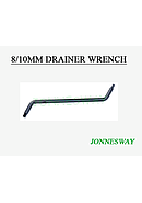 Jonnesway 8/10 mm Drainer Wrench