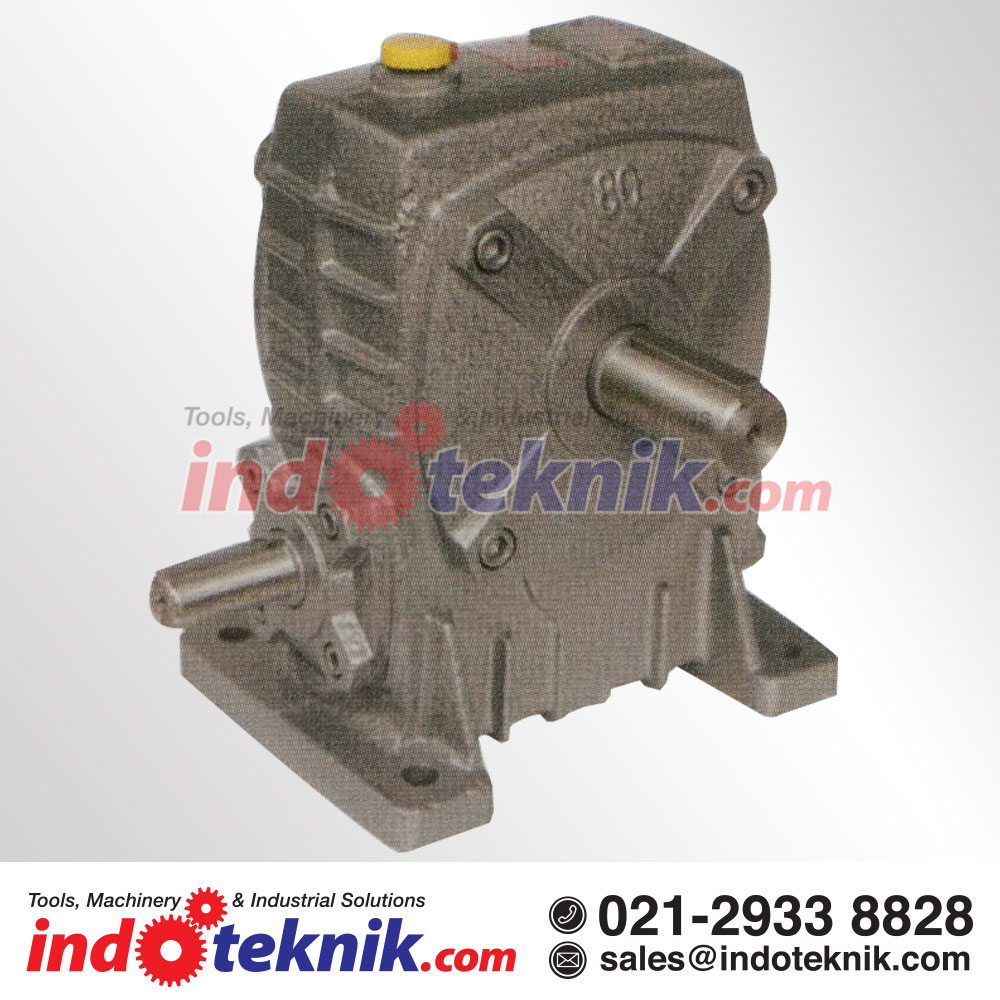 Advance Worm Gear Speed Reducer/Gearbox WPA 100 (Ratio 1:10-60)