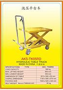 AKS Hydraulic Table Trucks AKS-TK05RD