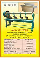 AKS Apron Grooving And Corner Cutting Machine AKS-XT2200RA