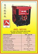 AKS AC ARC Welding Machine AKS-MG100
