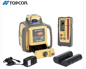 TOPCON RL-H4C Construction Laser Level Rechargeable with LS-100D Receiver (313980772)