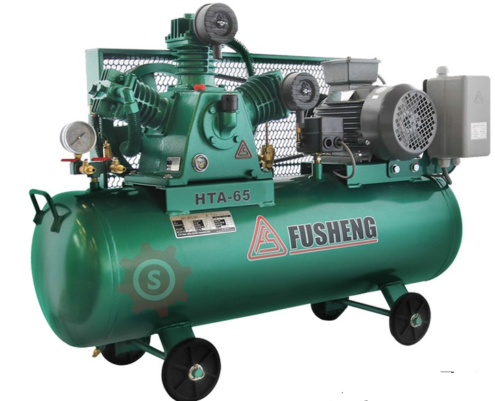 Fusheng Two - Stage Air Compressor Semi Automatic HTA80-S (5 HP) - Taiwan