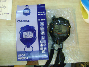 Casio Stopwatch Watch HS-80TW