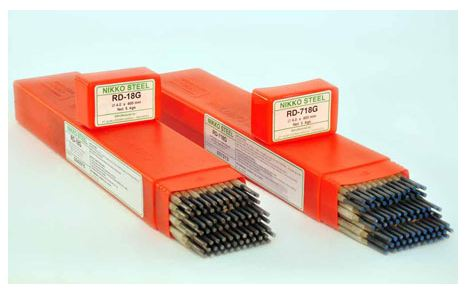 Nikko Steel Kawat Las Elektroda RD-16C (MMA Electrodes For High Tensile Low Alloy Steels)