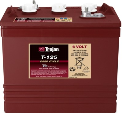 Trojan Battery T-125 (6 Volt 240 AH)