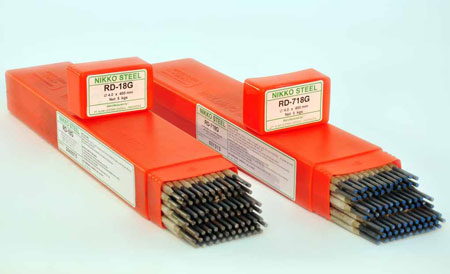 Nikko Steel Kawat Las Elektroda RD-110M (MMA Electrodes For High Tensile Low Alloy Steels)