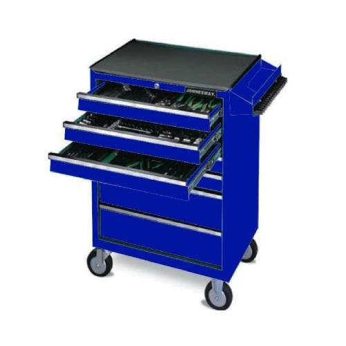 Jonnesway Professional Mechanic Tool Set with 7-Drawer Tool Trolley 260Pcs (C-7DW244V)