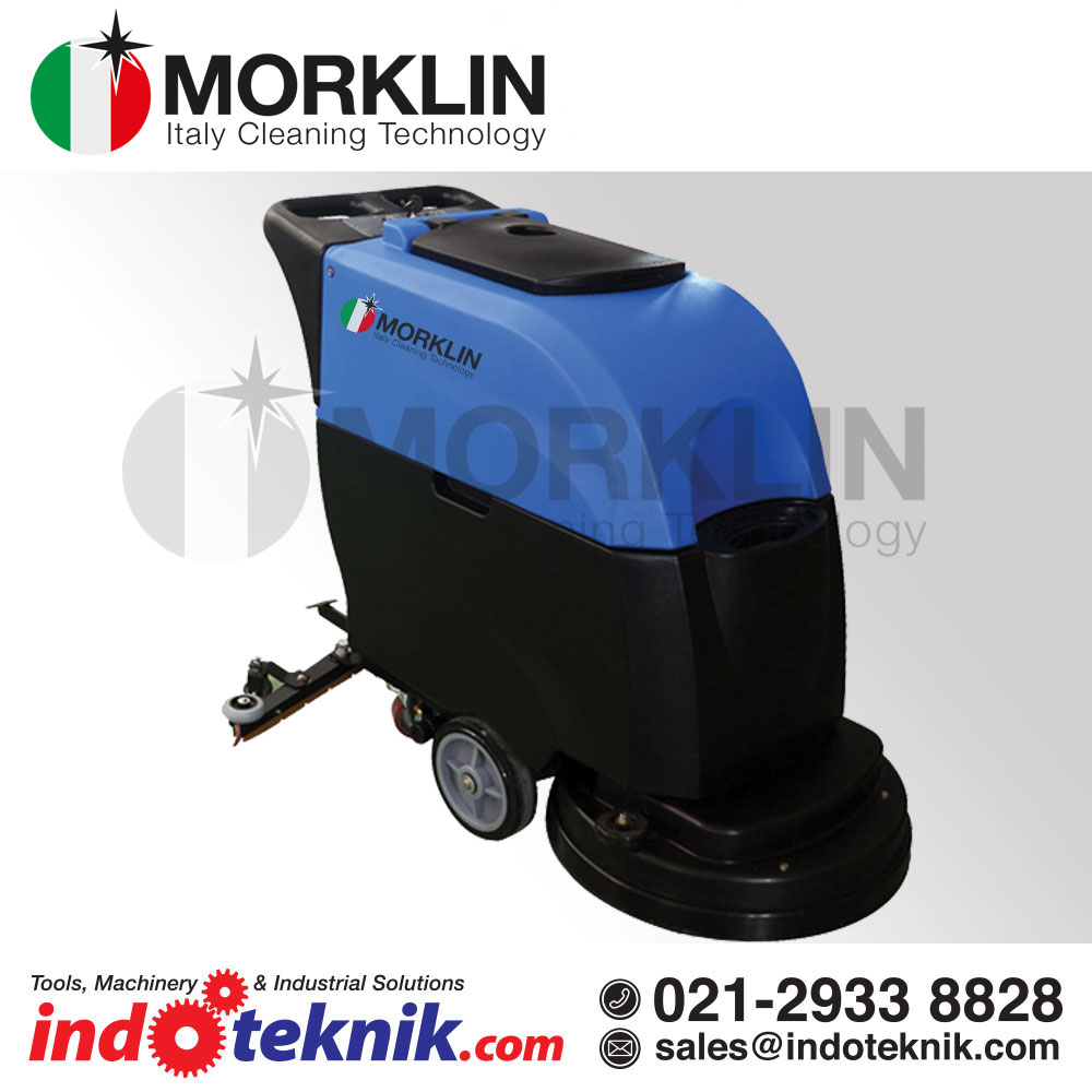 "Morklin Auto Scrubber Electric  MD-20 Ep(20""/210 rpm/Batterai)"