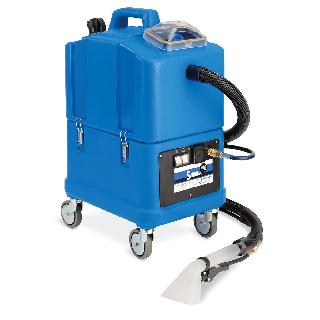 Santoemma (SW30 + HT1800) Professional Carpet Cleaning Machines CAR Wash Interior Cleaning (HOT Injection Extraction) Italy