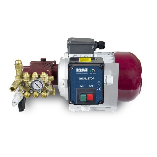 Cold Water High Pressure Idrobase Scarabeo Red 130 Bar/9l/min (Italy)