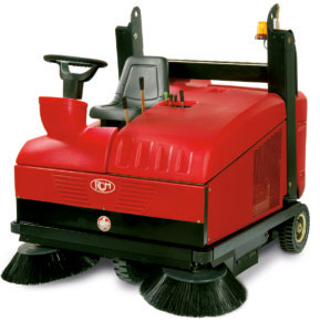 RCM Sweeper Ride-On/Supply Battery Powered 36 V/Cleaning Operation Maintenance (NOVE E)