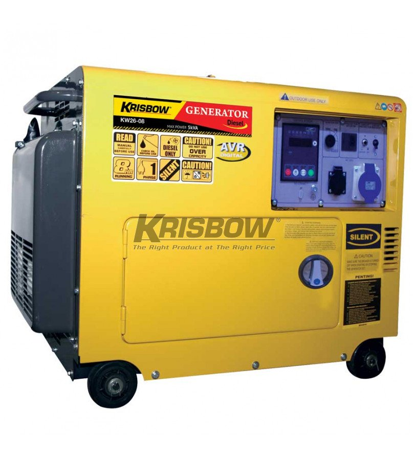 KRISBOW KW1400493 Semiautomatic Gas Cut Machine with Rail