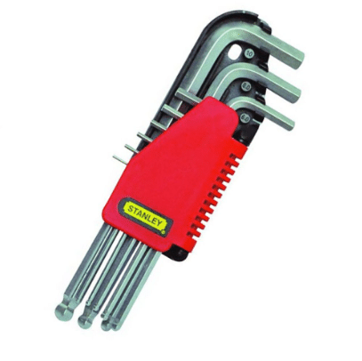 Stanley 69-119 Hex Key Set (Kunci L) And 69 Series