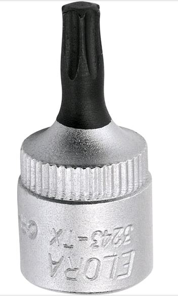 "Elora Screw driver Socket 1/4"" (3243-TX 40)"