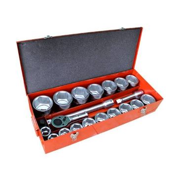 Maxpower 1'' DR.Socket Wrench Set 22 Pcs , 6 PT