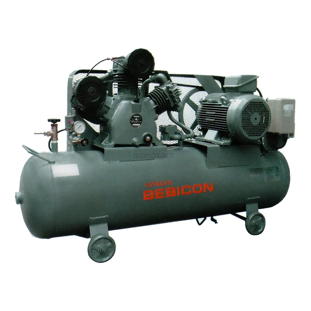 Hitachi Air Compressor-Medium Pressure Switch Automatic Type Vertical And Horinzontal 5.5P-14V5 (5HP/3.7KW/3PH)