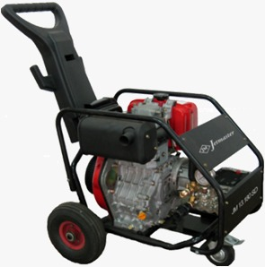 Jetmaster High Pressure Washer Gasoline Engine JM21.350SD (350 bar/Diesel Hatz/Italy)