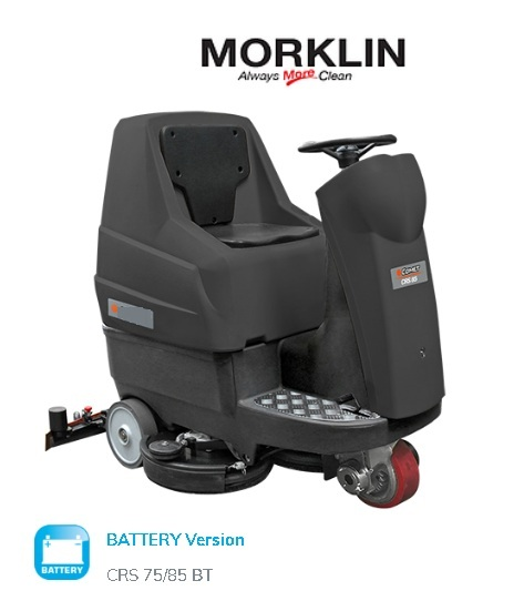 Morklin Ride-On Scrubber Dryer CRS 75BT