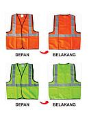 Wipro Rompi Pengaman Model Polos Polyester