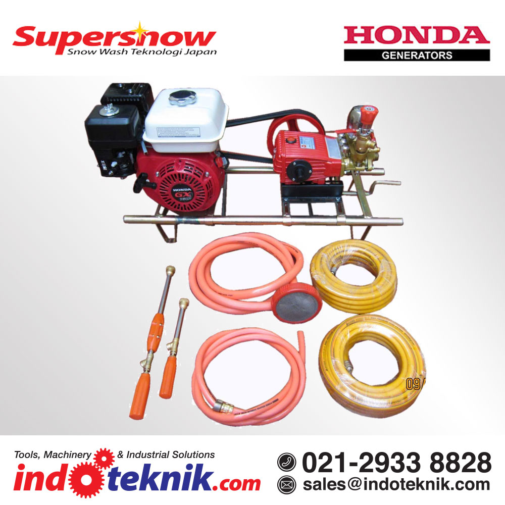 Supersnow Cuci Steam Motor (Engine Honda+SCN-30)
