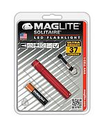 MAGLITE LED SOLITAIRE HANGPACK RED SJ3A036
