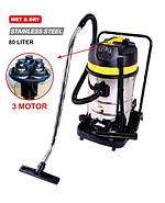 WIPRO VACUUM CLEANER WET & DRY STAINLESS STEEL WP 2080
